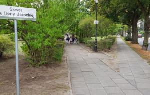 Skwer w Oliwie dla wykonawczyni 'Kawiarenek'