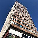 Hotel w 80-metrowym biurowcu w Śródmieściu Gdańska