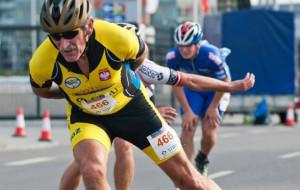 Antoni Wróbel. 71-latek mistrzem świata w maratonie na rolkach