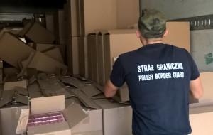 Rekordowy przemyt papierosów pod Gdańskiem