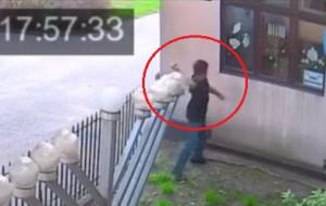 Sprawca ataku na synagogę w rękach policji