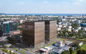 Dwa bliźniacze biurowce powstają w Oliwie
