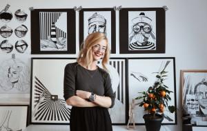 """""""Rysowanie sprawia, że czuję się szczęśliwa"""". Wywiad z Martą Płusą"""