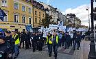 Policjanci z Pomorza protestowali w Warszawie