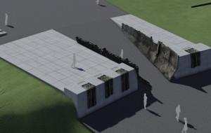 Rusza budowa kwatery pamięci Józefa Unruga na Oksywiu