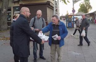 Gdynia: kandydaci rozdawali drożdżówki