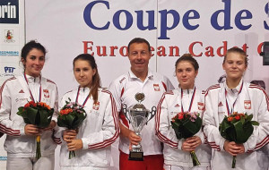 Florecistki triumfują w zawodach Pucharu Europy U-17. W sobotę turniej w Gdańsku