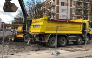 Ruszył remont skrzyżowania Rajskiej i Heweliusza w Gdańsku