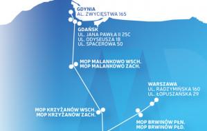 Ładowarki na trasie do Warszawy już działają
