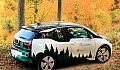Nadleśnictwo Gdańsk otrzymało elektryczne BMW