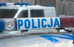 Obława policji w Górkach Zachodnich