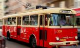Cztery zabytkowe trolejbusy z Gdyni