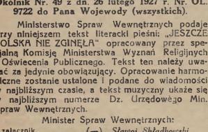 Cała Polska zaśpiewa hymn w południe?