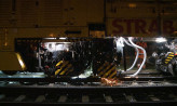 18-metrowa maszyna do równania szyn tramwajowych