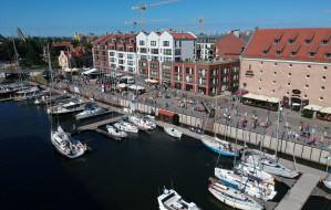 Mniej jachtów odwiedziło gdańską marinę