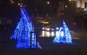 Iluminacje także w gdyńskich dzielnicach