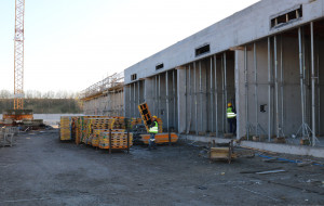 Nowa kompostownia w Szadółkach ma już ściany