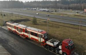 """Tramwaj z Gdańska """"przyłapany"""" na autostradzie"""