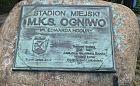 Sopot: skradziono pamiątkową tablicę sprzed stadionu