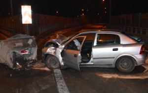 Pijany rozbił auto i uciekał przed policją. Był poszukiwany