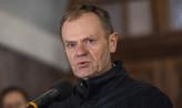 Zatrzymano mężczyznę, który groził śmiercią Donaldowi Tuskowi