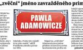 Praga odwdzięczy się Adamowiczowi za Havla