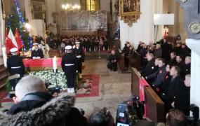 W bazylice Mariackiej odprawiono mszę w intencji Pawła Adamowicza