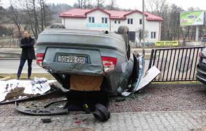 Feralny zakręt na ul. Potokowej