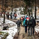Zimowa wędrówka wśród jezior i torfowisk Nadleśnictwa Gdańsk