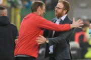 Czy Lechia Gdańsk jeszcze się wzmocni? Trener Piotr Stokowiec uspokaja