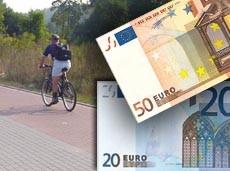 Mandat dla rowerzysty