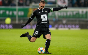 Flavio Paixao jak ratownik w Lechii Gdańsk: Zawsze gotowy odmienić mecz