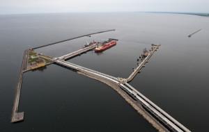 Prawie 15 mln ton ropy przeładowanych w Naftoporcie