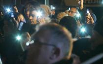 Ostatnie światełko dla prezydenta na Targu...