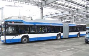 Testy przegubowych trolejbusów w Gdyni