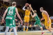 Koszykarze Arki Gdynia wygrali ze Stelmetem Zielona Góra w meczu na szczycie EBL
