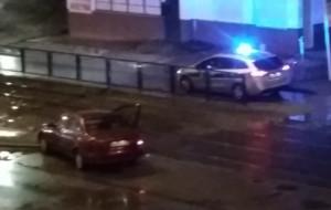 Pościg za złodziejem auta na Siedlcach