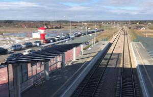 Węzeł przesiadkowy przy PKM Gdańsk Rębiechowo otwarty