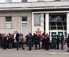 Protest przeciw Karcie Równości przed Urzędem Miasta w Gdyni
