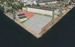 Strefa inwestuje w płytę montażową do budowy statków