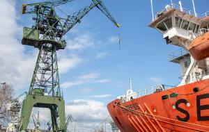 Od maja nowy punkt widokowy na terenie stoczni - w starym dźwigu