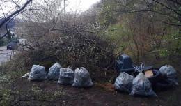 Posprzątają śmieci przy torach w Małym Kacku