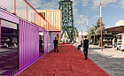 Stocznia Cesarska. Biurowa wioska kontenerowa od 2020 roku