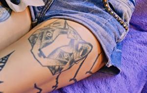 Tatuaże z motywem zwierzęcym