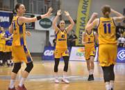 Koszykarki Arki Gdynia pokonały Ślęzę Wrocław 71:52 w pierwszym meczu o brąz