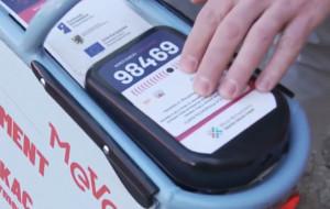 Jak wypożyczyć rower Mevo za pomocą karty zbliżeniowej?