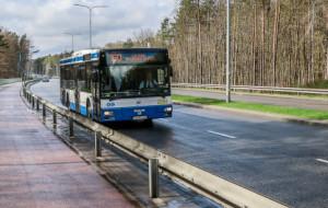 Autobusy pojadą ul. Chwarznieńską swoim pasem