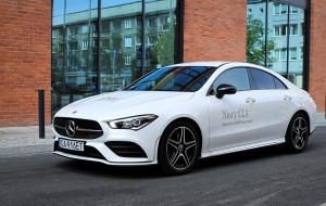 CLA Coupe: Mercedes dla młodych
