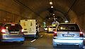 Poranny paraliż na drogach po wypadku w tunelu