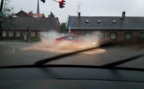 Znów intensywnie padało w Trójmieście